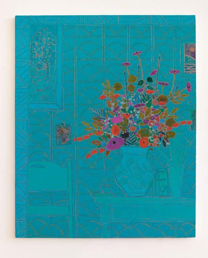 ART BLOG ART BLOG: John McAllister, stellar crash the sea @ Carl Freedman Gallery bright spright jaunty, 2014