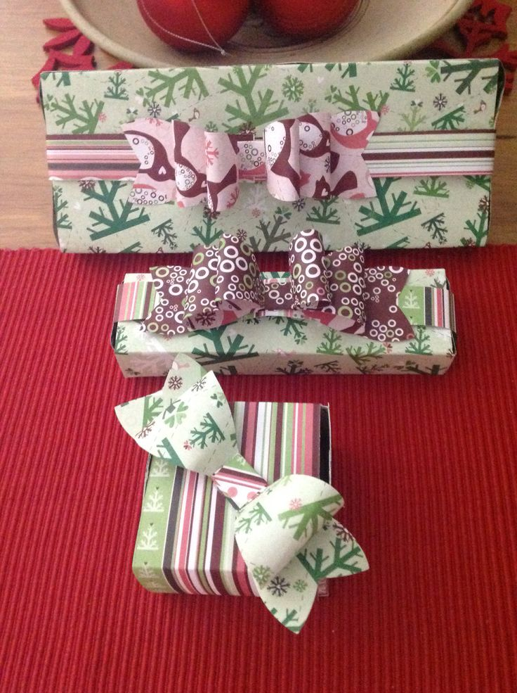 Boxes and bows handmade