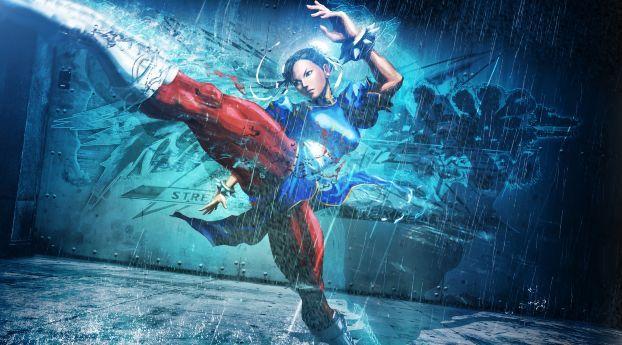 Street Fighter X Tekken Girl Chun-Li