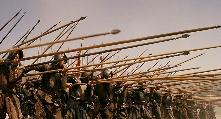 Spanish Tercio at the Battle of Rocroi (1643) - From the movie Alatriste (2006)