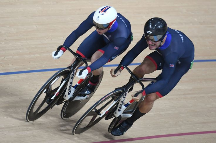Jason Kenny and Callum Skinner: Gold and silver (respectively) in the men's…