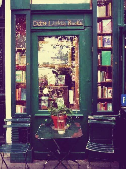 City Lights Bookstore, San Francisco, USA.