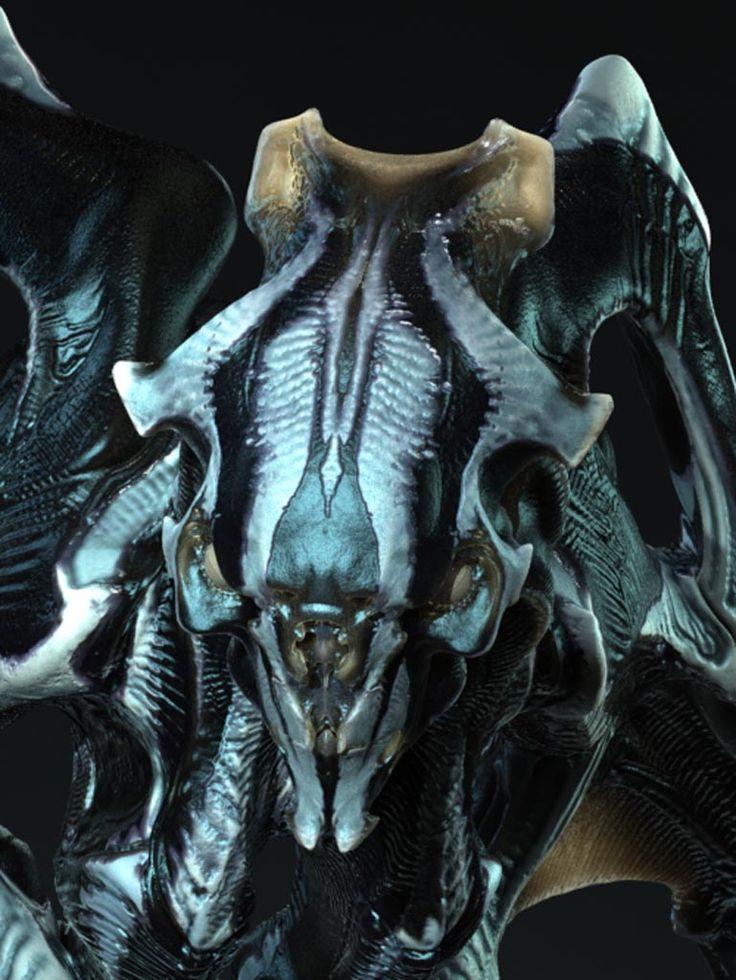 Monster Gallery: Super 8 (2011) | Monster Legacy |Super 8 Alien Design