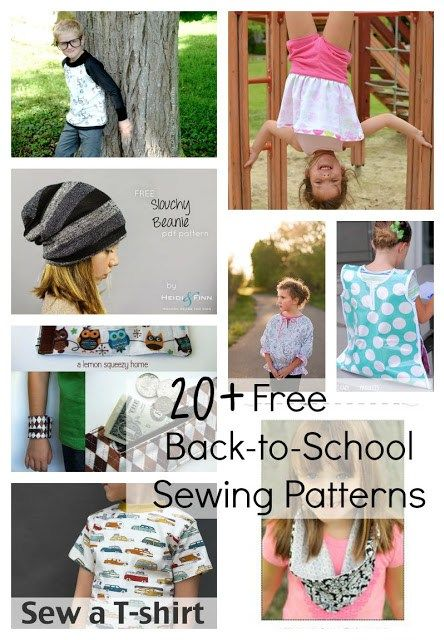Beatnik Kids FREE Back-To-School Sewing Patterns and Tutorials accessories boy sewing free pattern Round Up sewing Sewing For Kids  round up kids clothing free patterns free pattern round up boy sewing patterns back-to-school