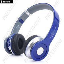 Casque audio sans fil Bluetooth - 3.5mm - BLEU - Gestion Fce - Liv. gratuite !