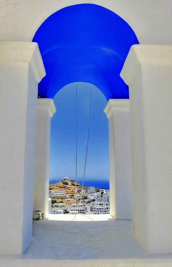 Blue and white.... #travel #traveltogreece #summer #greece #island