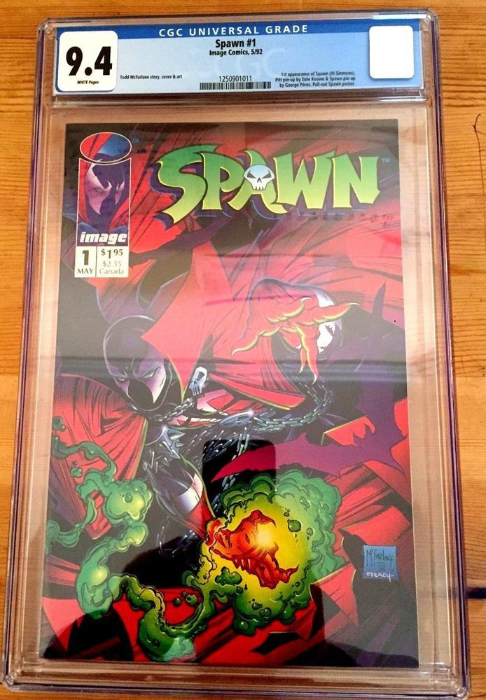 Image Comics: Spawn #1 CGC Graded 9.4