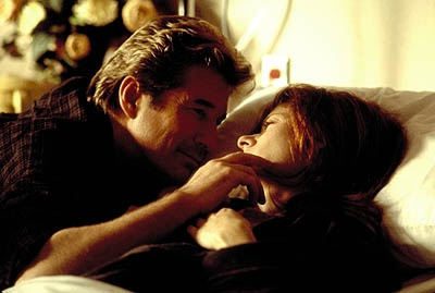 Richard Gere and Debra Messing in The Mothman Prophecies