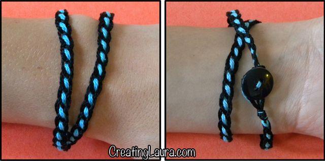Creating Laura: Grownup Friendship Bracelets
