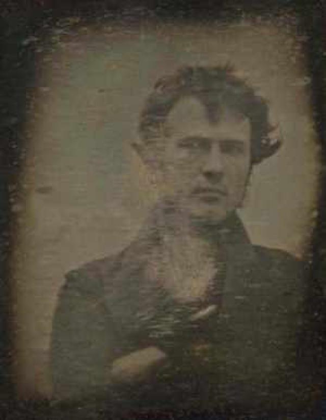 An Illustrated History of Photography: First American Daguerreotype - Robert Cornelius Self-Portrait