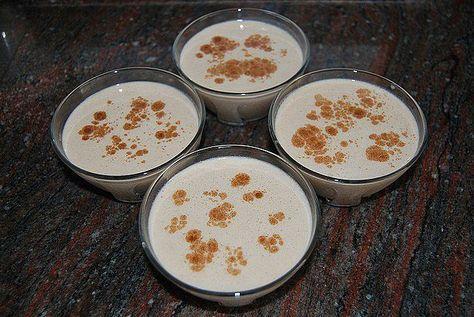 Flan de leche merengada Ataque