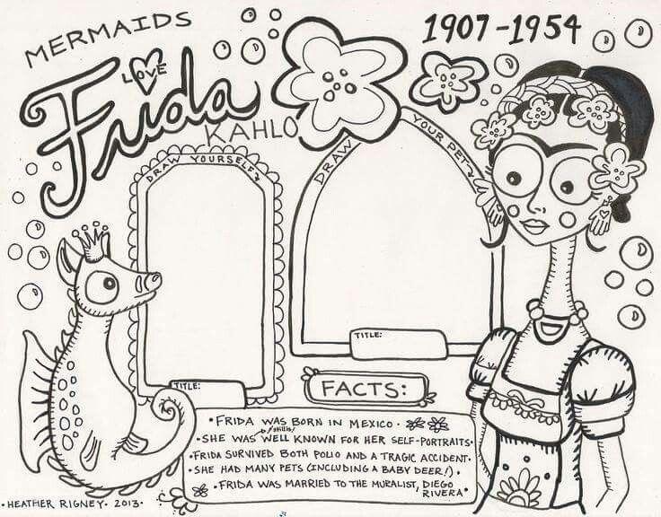 15 best Frida Khalo: Art Project for Kids images on