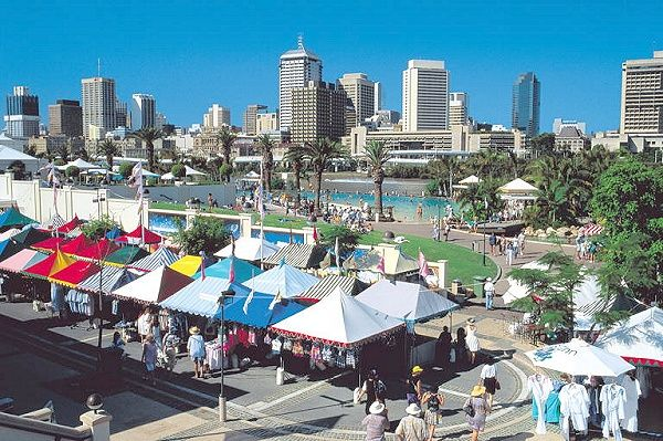 Southbank and markets, Brisbane, Queensland Australia