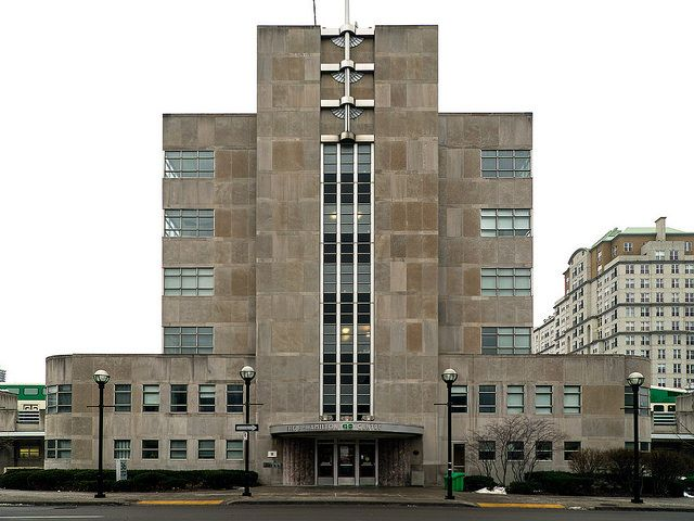 20141213. The Hamilton GO Centre (c.1933) is possibly the only example of Art Deco station architecture in Canada.   Flickr - Photo Sharing!