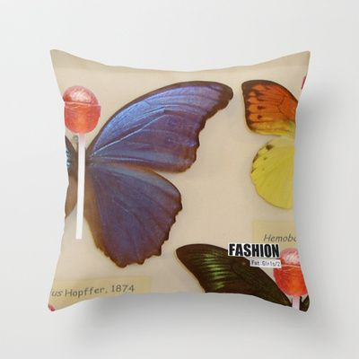 Fashion Fat Girls/2 Throw Pillow by trsk - $20.00