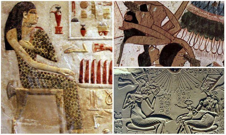 La consideración que recibían las mujeres en el Antiguo Egipto era asombrosa comparada con la que tenían la griegas y romanas. ¡Descúbrelo! Shared by Edith Cruz