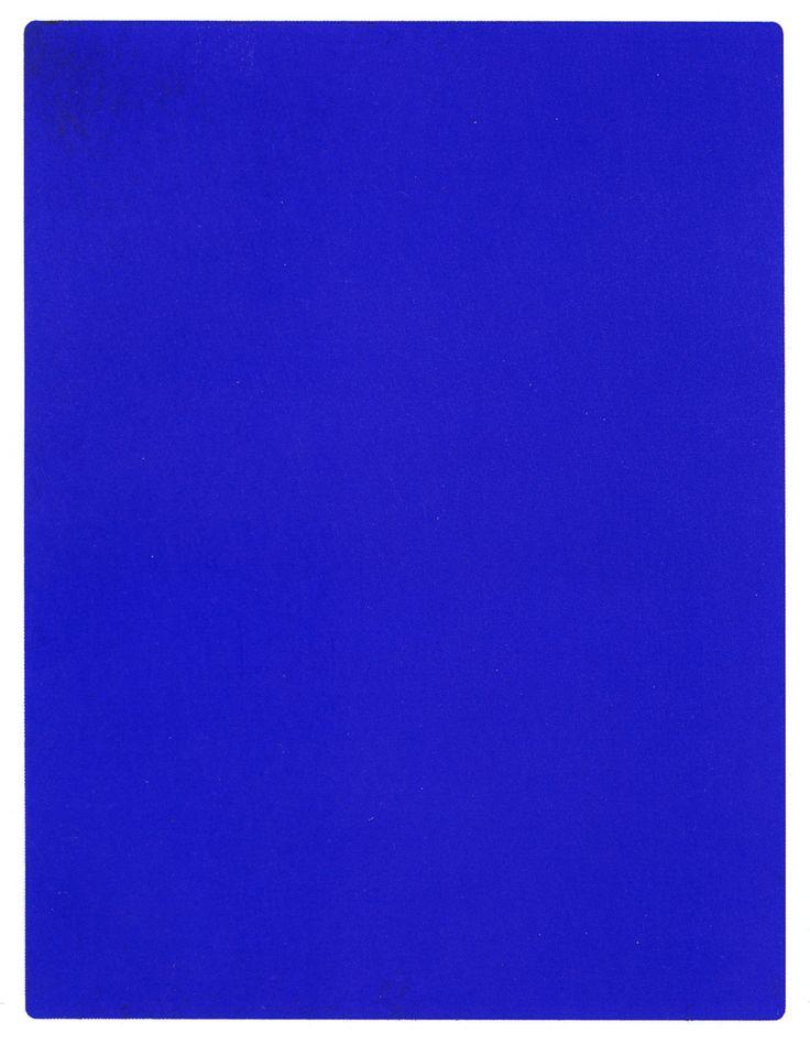 International Klein Blue est une sorte de bleu crée par Yves Klein, artiste français, né en 1928 et mort en 1962 et travaillant énormément le monochrome. Le IKB est la combinaison d'un pigment outre-mer avec de la Rhodopas une sorte de résine. En utilisant...
