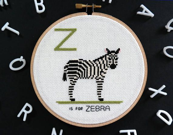 The 27 best animal house images on pinterest alphabet flash cards z is for zebra modern cross stitch alphabet animalia alphabet flash cardspersonalized baby giftsmodern negle Image collections