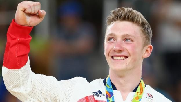 Rio Olympics 2016: Nile Wilson wins Great Britain's first high bar medal