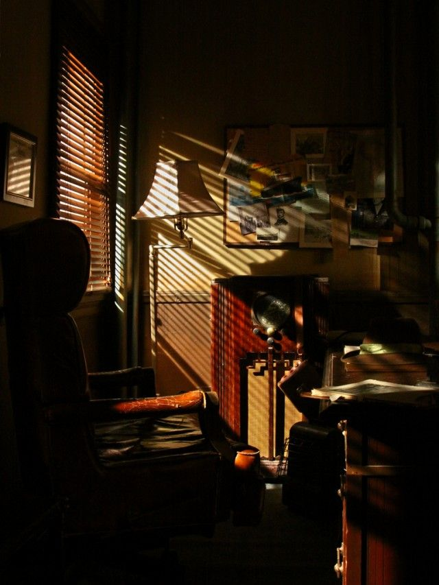 Noir Window by Sarah Le Feber