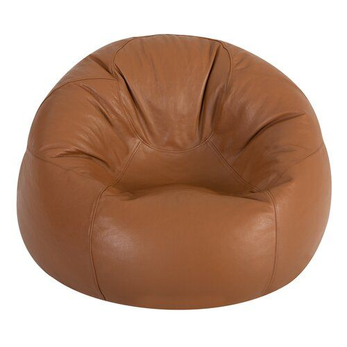 Leather Bean Bag Chair Hokku Designs Upholstery Colour