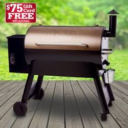 It's the best time to get your new Traeger grill! Pro Series 34 on sale for $899, plus $75 Ace gift card with purchase! Don't forget to ask how you can receive free assembly and delivery.