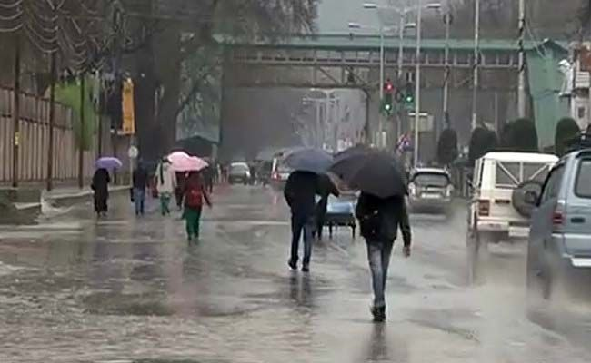 Jammu and Kashmir will end, as the weather department forecast light rains between November 14 and 15