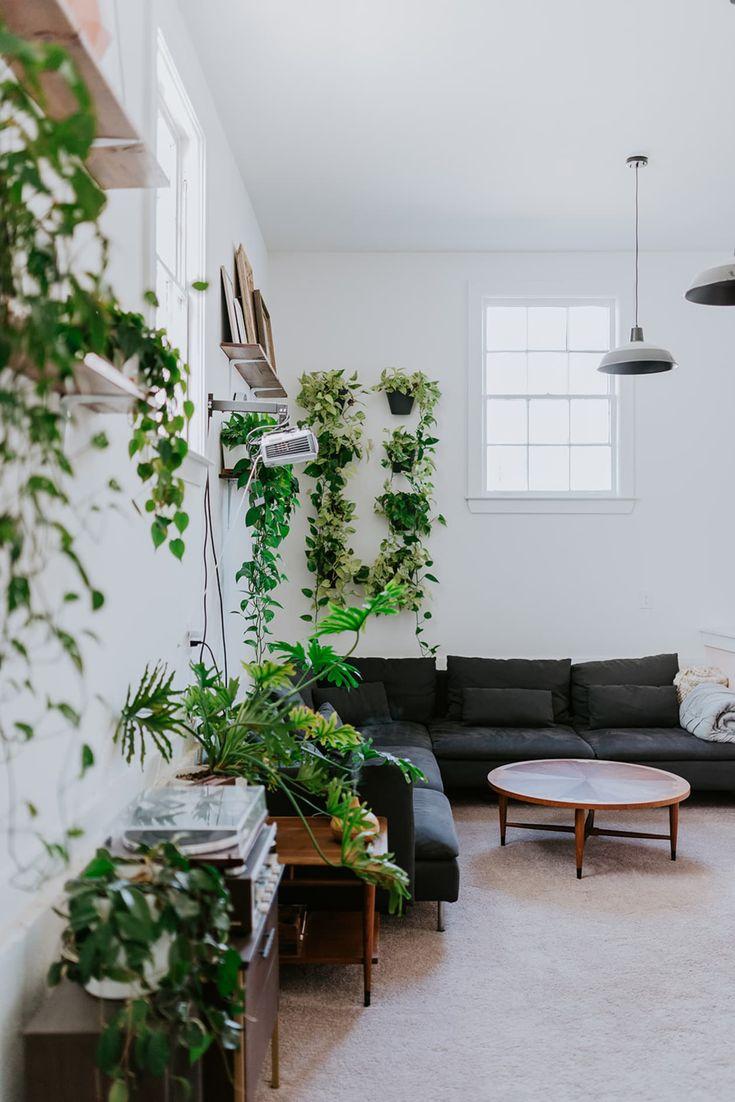 This Minimal Renovated Boho Home Has Plant and Art ...