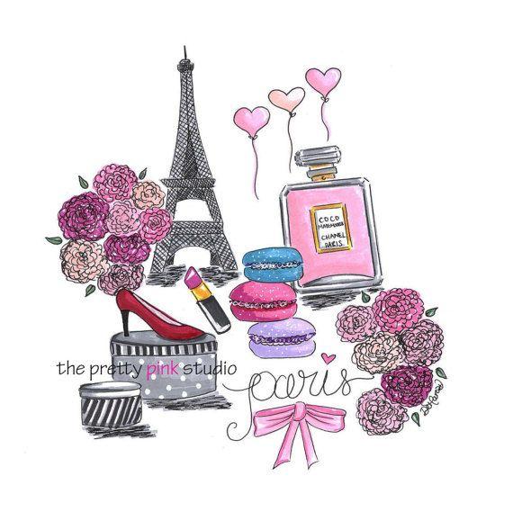 Paris Illustration: 17 Best Ideas About Fashion Illustration Chanel On