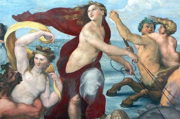 Raffaello Sanzio è l'autore di uno splendido affresco che si trova nella Villa Farnesina di Roma: ecco un'analisi dettagliata dell'opera: Trionfo di Galatea
