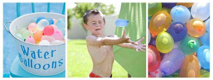 Con estos fresquísimos juegos de agua vuestros niños disfrutarán de la actividad al aire libre de una forma muy refrescante.