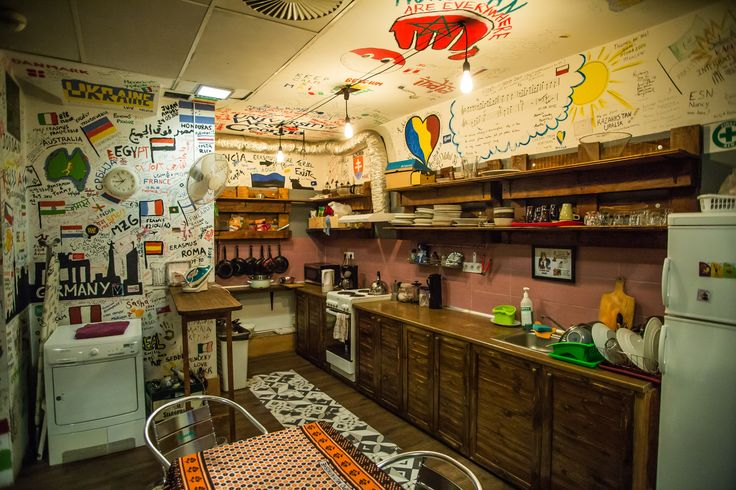 Free coffee and tea facilities all day and a fully equipped kitchen to cook in for our guests in the best Budapest hostel!