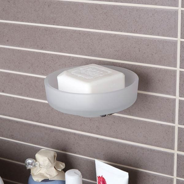 Eclipse Stainless Steel Bathroom Accessories -  Soap Dish and Holder | Stainless Steel Bathroom Accessories | BetterBathrooms.com
