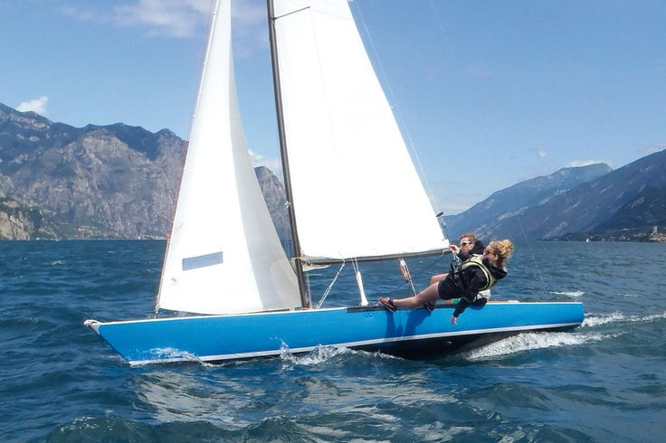 Three days program on the Lake Garda (Italy) to learn about #sailing and #branding