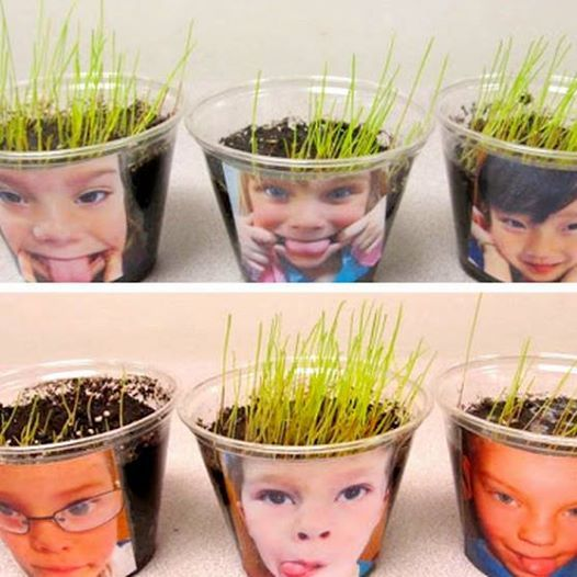 Cute project to welcome Springtime into the home or classroom