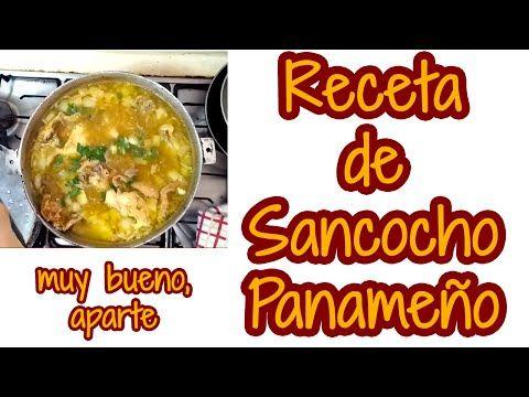 Receta de Sancocho Panameño - YouTube