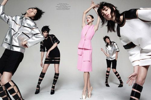 CR Fashion Book: A Tribute To Dim Dam Dom - Journal - I Want To Be A Roitfeld
