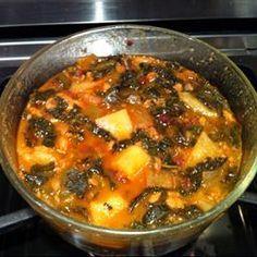 New Bedford Portuguese Kale Soup on BigOven: New Bedford Portuguese Kale Soup