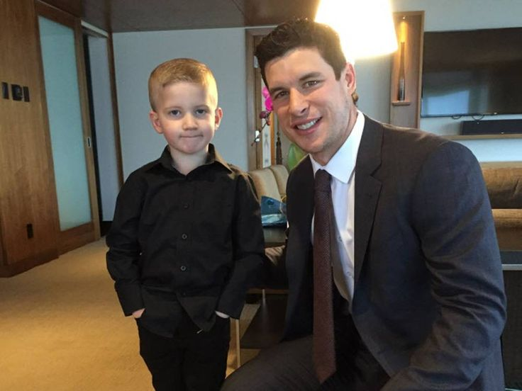 A two-time Stanley Cup champion has become a real-life hero to a five-year-old Vancouver Island boy recently diagnosed with brain tumours.