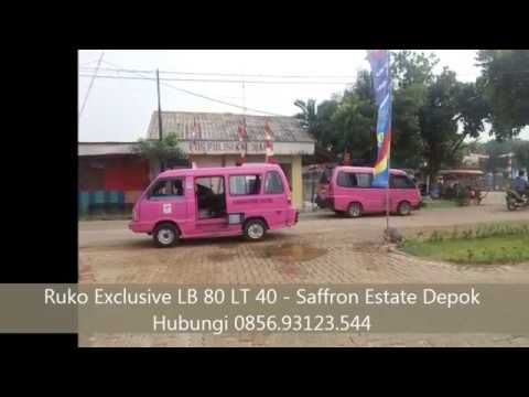 0856 93123 544 Ruko 8 Unit 2 Lantai Kalibaru - Saffron Estate Depok