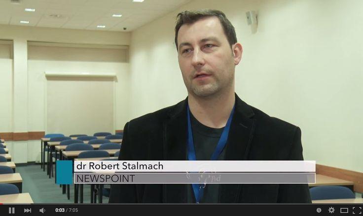 Robert Stalmach o badaniu polskiej blogosfery - obejrzyjcie! www.youtube.com/watch?v=Yyta7fu1AB8