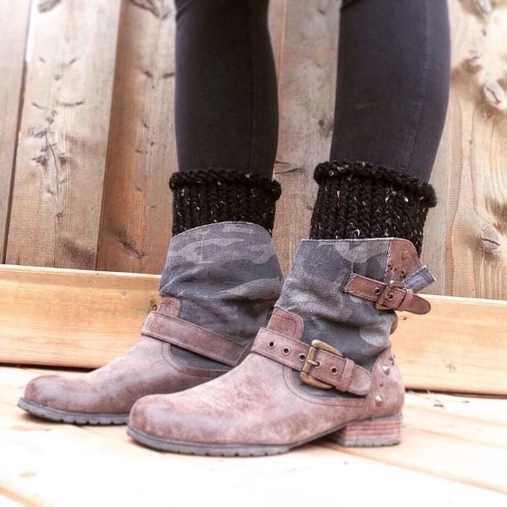 A personal favorite from my Etsy shop https://www.etsy.com/ca/listing/448691492/boot-cuffs-boot-socks-leg-warmers-knit