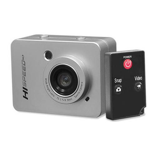 Hi-Speed HD 1080P Hi-Res Action Camera Digital Camera/Camcorder with Full HD Video, 12.0 Mega Pixel Camera & 2.4'' Touch Screen (Silver Color)