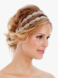 Headband double, fait main, en cristal de swarowski.   (70€ chez http://annoncesdentelle.fr): Head Bands, Hairstyles, Bridal Headpieces, Hair Pieces, Long Hair, Poppies, Hair Style, Hair Accessories, Crystals Headbands