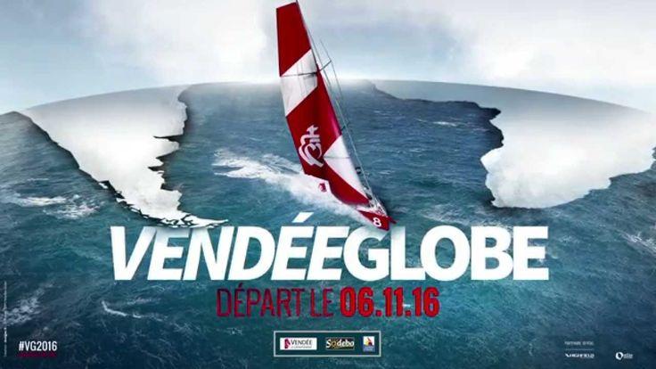 Le teaser du Vendée Globe 2016, départ le 6 novembre 2016 aux Sables d'Olonne !