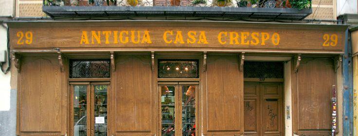Antigua casa crespo alpargatas desde 1863 en divino - Casashops madrid ...