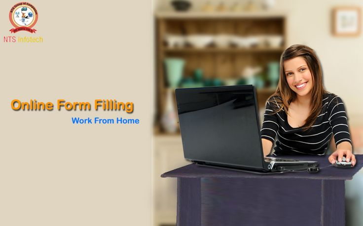 We provide online form filling job, work from home. For more info visit www.ntsinfotechindia.com