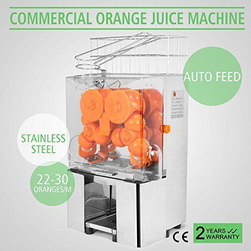 OrangeA Orange Juicer Orange Squeezer Machine Citrus Juicer Electric Cuisinart Juice Extractor Lemon Lime Auto Feed Commercial Stainless Steel (Silver Stainless Steel Tanks) - http://www.majestyappliance.com/orangea-orange-juicer-orange-squeezer-machine-citrus-juicer-electric-cuisinart-juice-extractor-lemon-lime-auto-feed-commercial-stainless-steel-silver-stainless-steel-tanks/