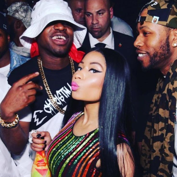 """675 Likes, 10 Comments - LOUSTAR (@loustar718) on Instagram: """"@nickiminaj we missed you so much baby!!! THE ORIGNALS! We all lit up once we locked eyes the love…"""""""