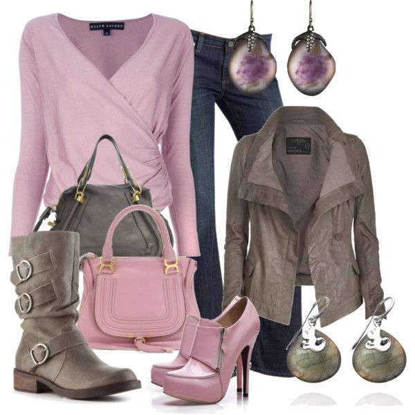 """""""Untitled #744"""" by bennaob on Polyvore live sweater jacket and jewelry"""